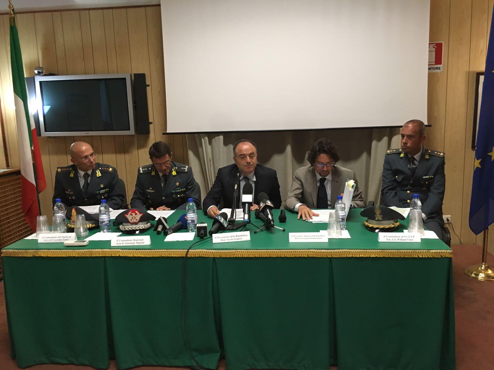 """Nuovi reati nelle carte di """"Calabria verde"""", la Finanza  notifica 5 misure cautelari a dirigenti e funzionari"""