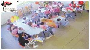 Potenza, maltrattamenti «sistematici» ai bimbi di una materna, sospese tre maestre