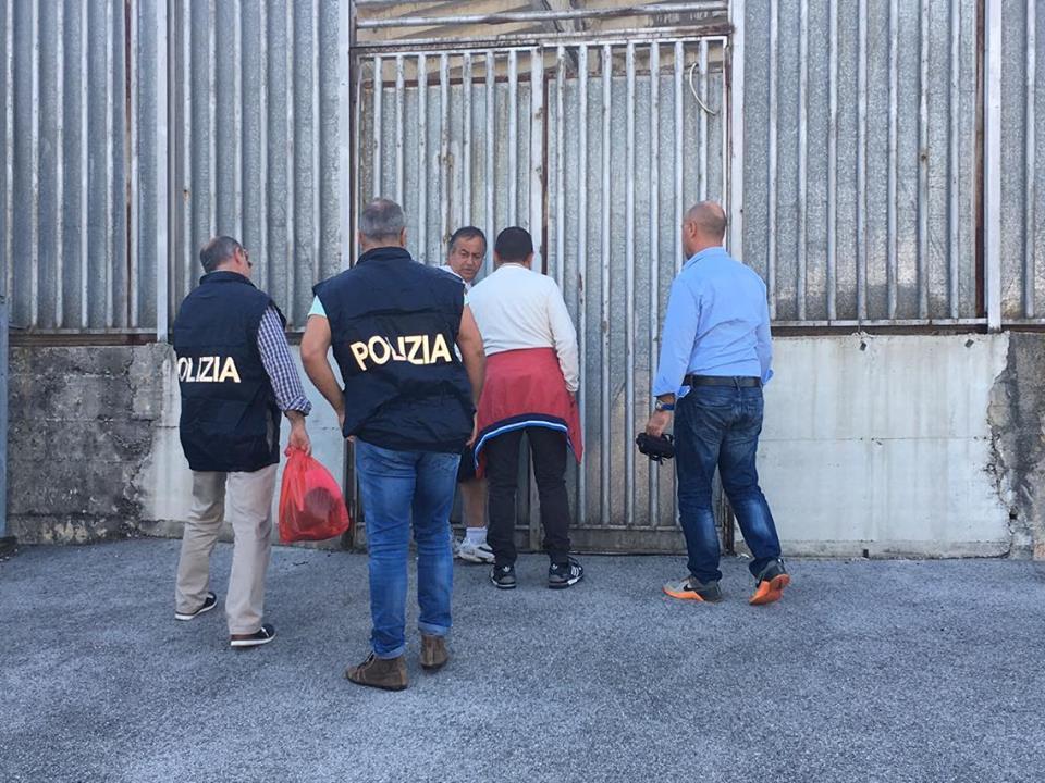 Avellino, blitz allo Stadio Partenio: la Mobile mette i sigilli alla Tribuna Terminio