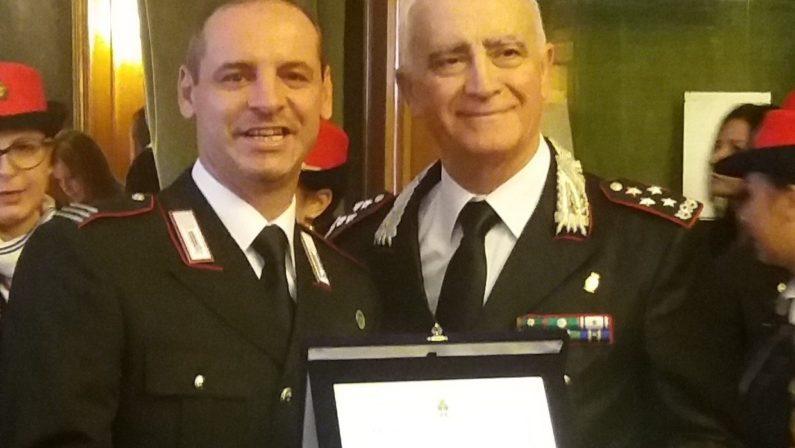 """Salvò 19 persone durante l'alluvione di Rossano, al carabiniere cosentino Capalbo il premio """"D'Acquisto"""""""