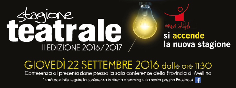 """Ariano Irpino, al via la seconda stagione teatrale di """"La Compagnia SulReale"""""""
