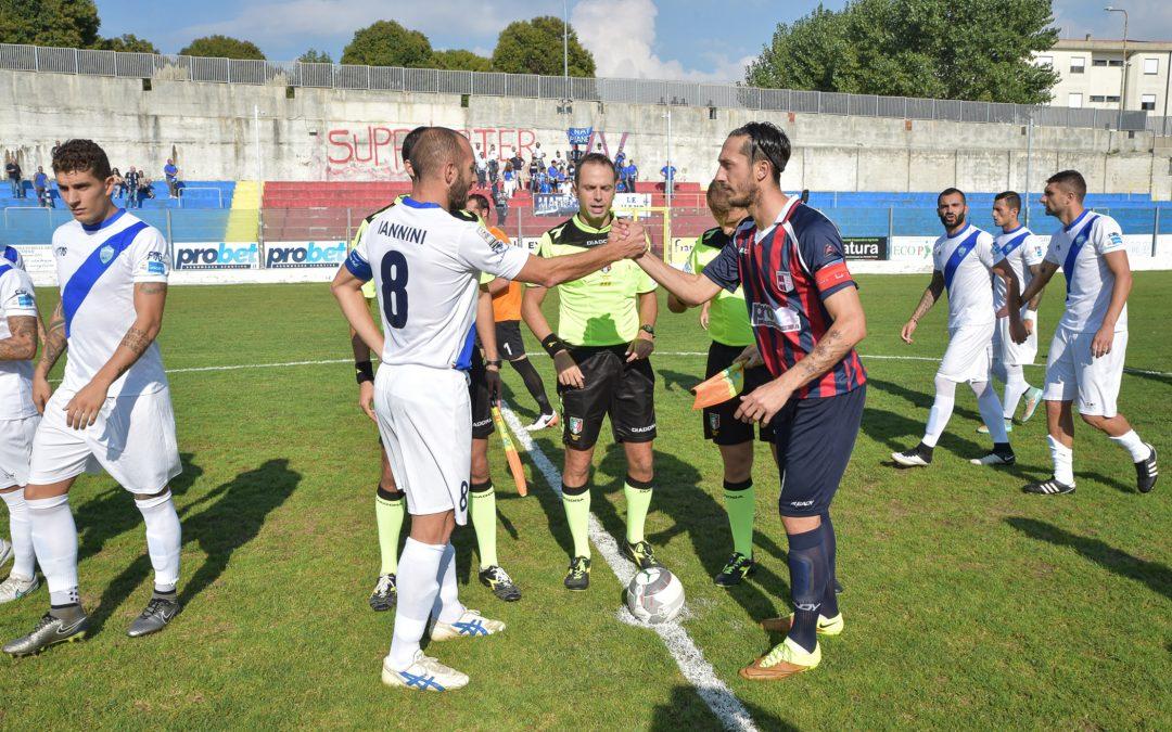 FOTO – Le immagini di Vibonese-Matera 0-1, partita decisa da un gol di Iannini