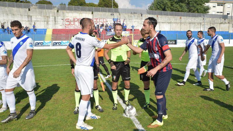 FOTO - Le immagini di Vibonese-Matera 0-1, partita decisa da un gol di Iannini