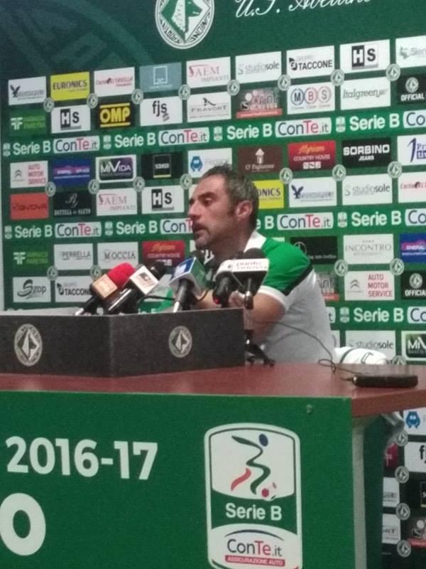 """Toscano: """"A Vicenza voglio un Avellino carico e determinato. Vogliamo fare punti"""""""