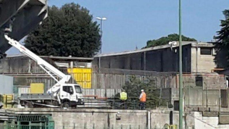 Stadio Partenio-Lombardi, cominciano i lavori nella Tribuna Terminio