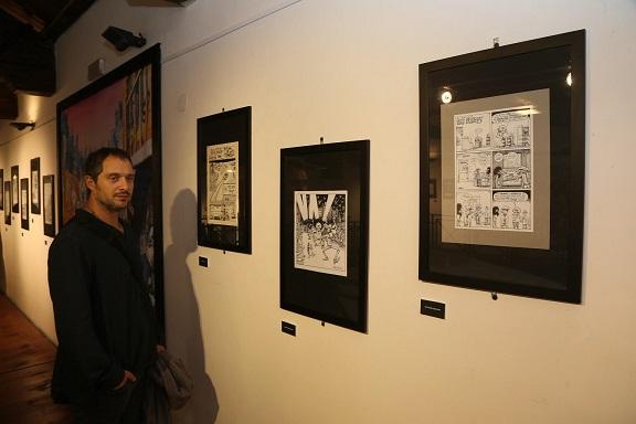 Festival del Fumetto: a Cosenza grande successo di pubblico e dibattito con Claudio Santamaria
