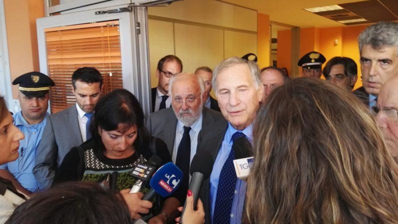 L'ambasciatore Usa Phillips in visita all'UnicalSu Technest: «C'è bisogno di luoghi come questo»