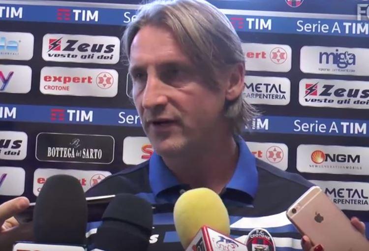 Verso Inter-Crotone, Nicola: «Giocare a San Siro è uno stimolo a dare di più»
