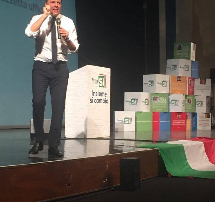 VIDEO – Renzi ad Avellino contro la Raggi e i frigoriferi in strada
