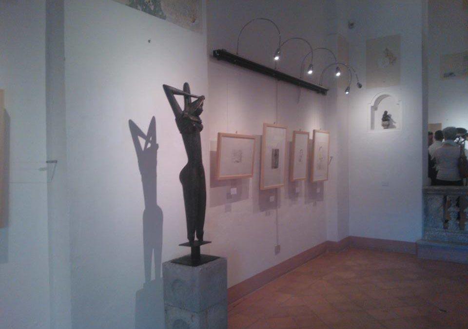 L'interno del MIG Museo Internazionale della Grafica
