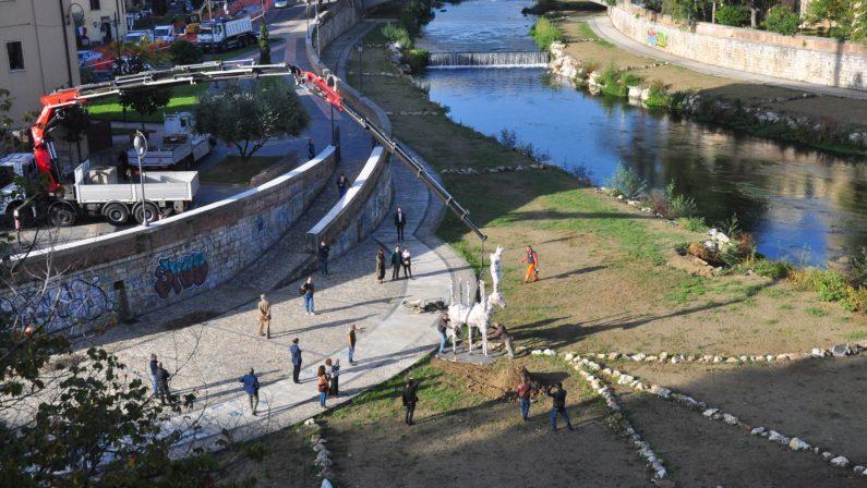 Cosenza candidata a Capitale della Cultura, sabatol'inaugurazione della statua dedicata ad Alarico