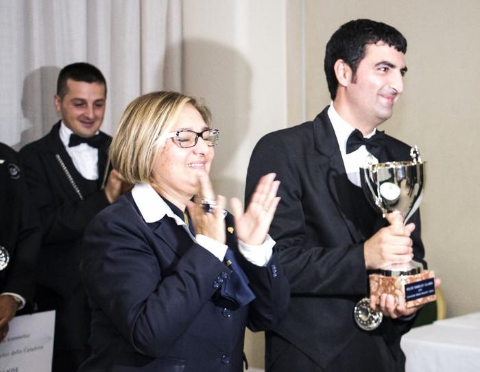 E' un reggino il miglior sommelier della CalabriaRappresenterà il Centro-Sud alla finale nazionale