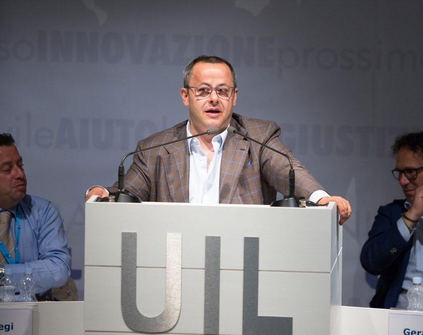 Carmine Vaccaro, segretario generale della Uil Basilicata