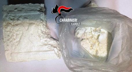 In giro con mezzo chilo cocaina nel borsone: arrestato a Caserta