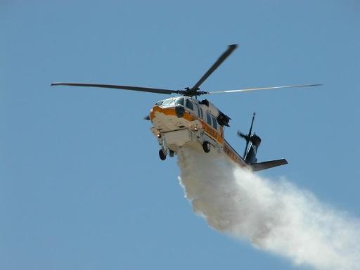 Emergenza incendi: operativo elicottero dal 15 luglio