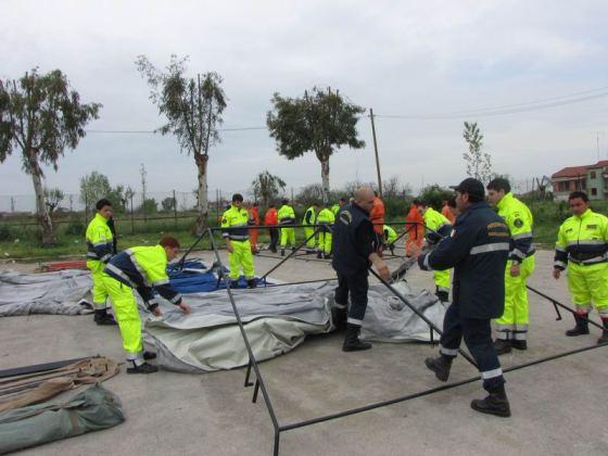 L'impegno dei volontari dell'Anpas nei luoghi colpiti dal terremoto