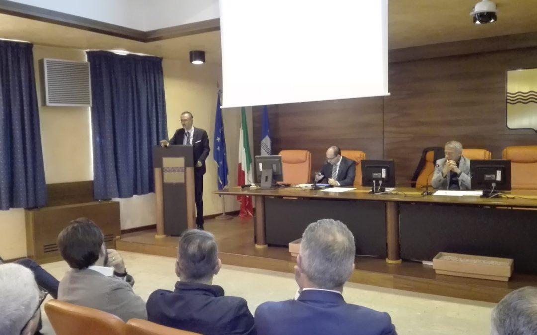 L'intervento del governatore Pittella