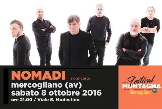 I Nomadi in concerto in Irpinia: cresce l'attesa