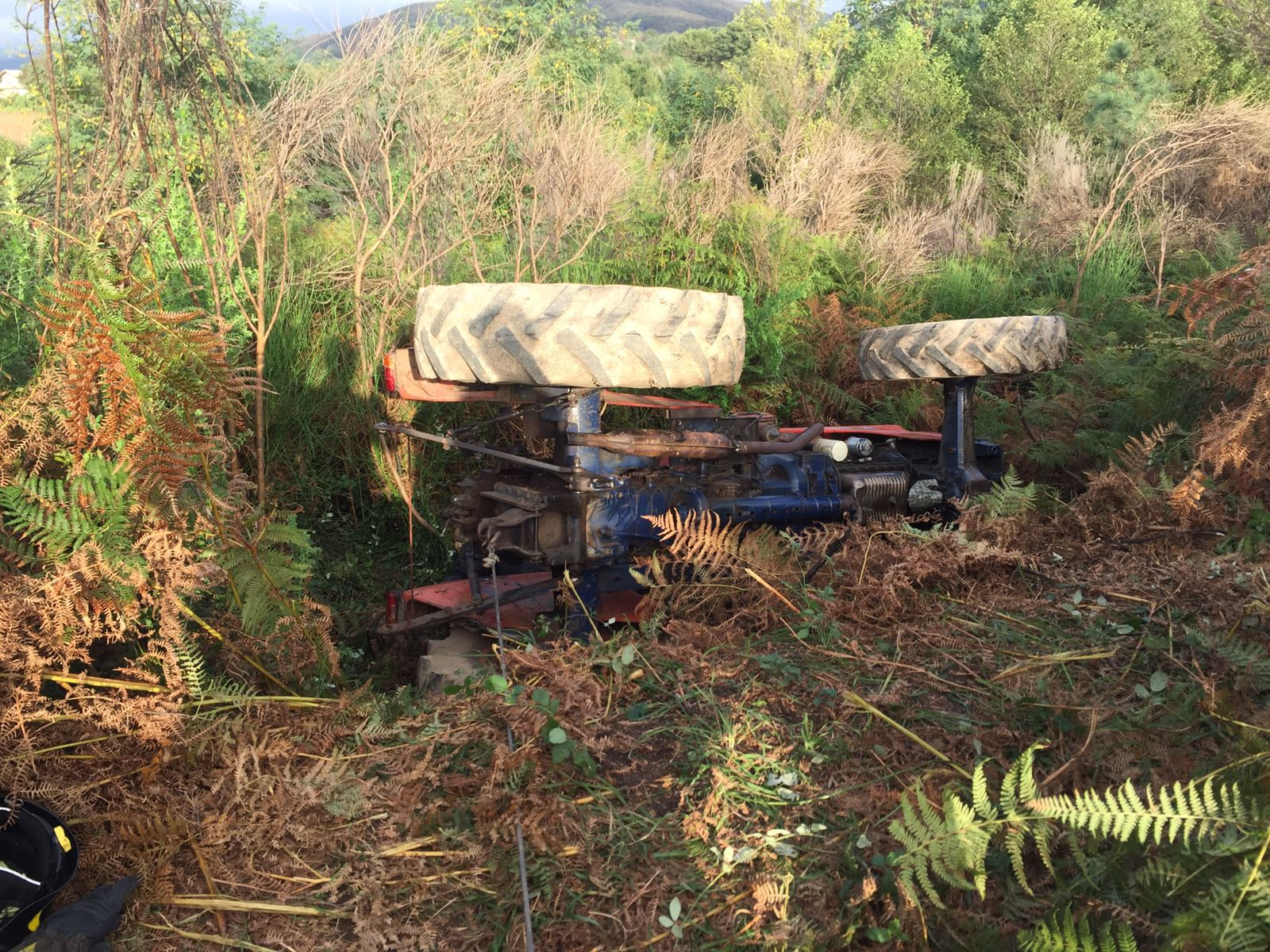 Giovane muore schiacciato dal trattore nel ViboneseStava lavorando in un podere insieme al fratello