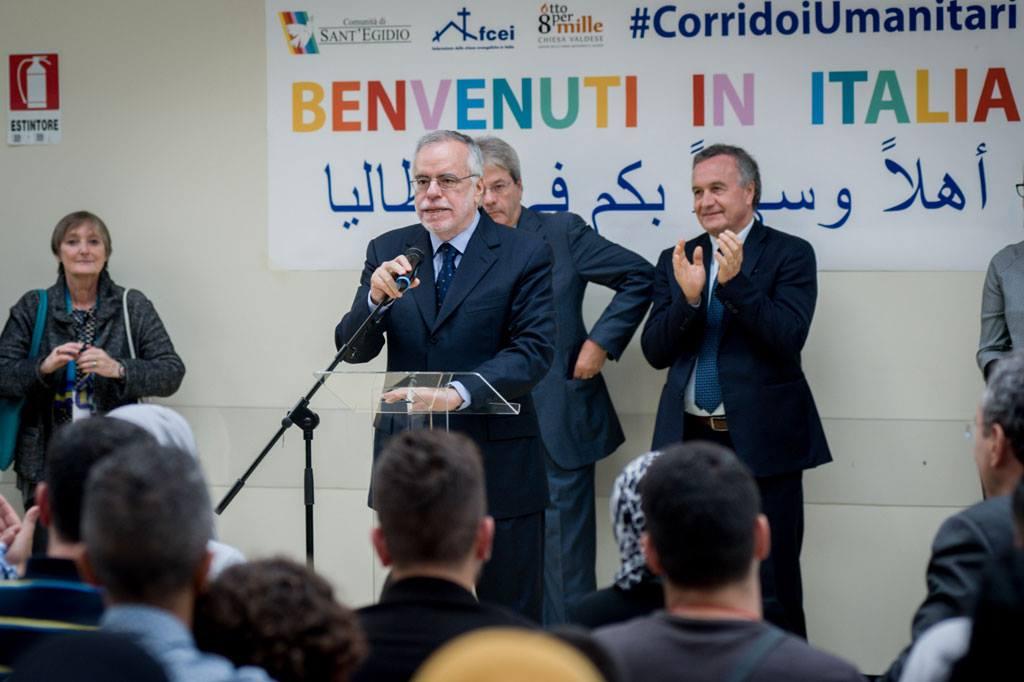 Lezione di accoglienza di Matera: tra i Sassi la prima famiglia siriana dei «Corridoi umanitari»