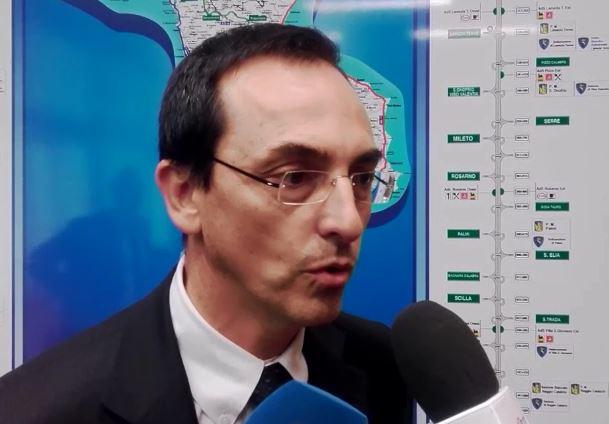 VIDEO - Il presidente di Anas, Gianni Vittorio Armani, a Cosenza parla del completamento della Salerno-Reggio Calabria