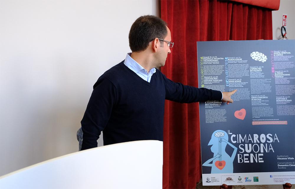 """""""il Cimarosa suona bene"""". il Conservatorio di Avellino inaugura la nuova stagione"""
