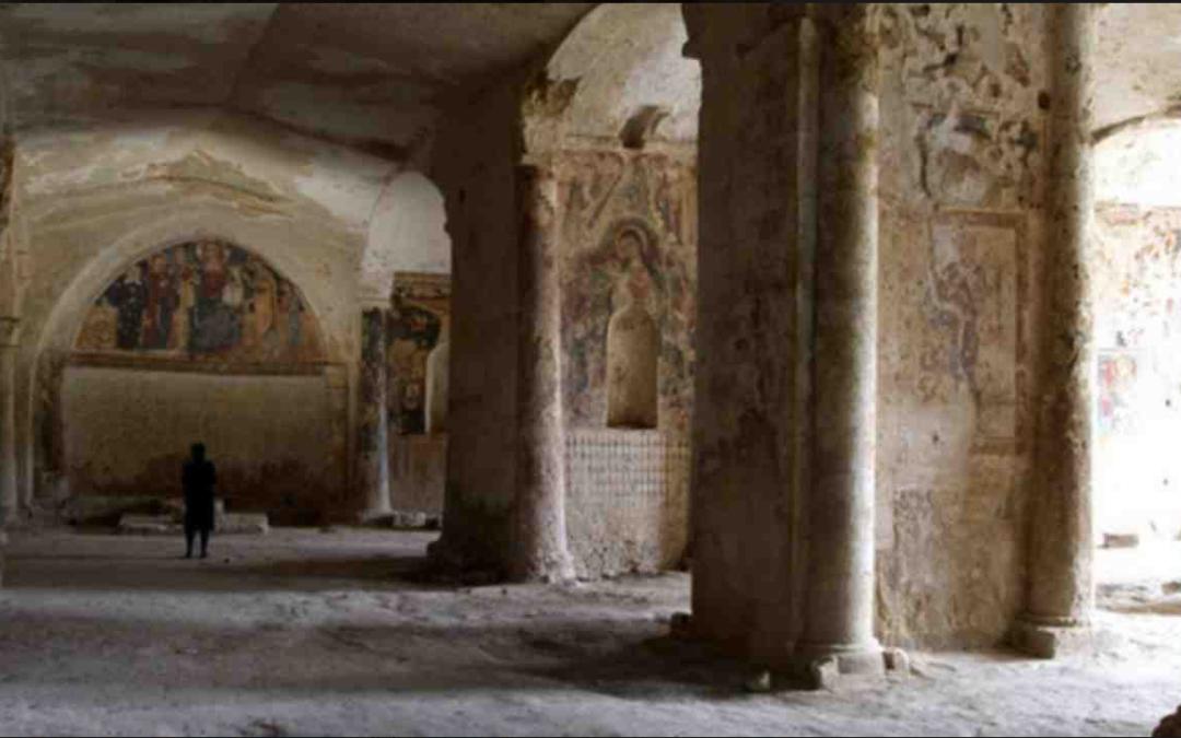 L'interno della chiesa di Santa Maria della Valle – meglio nota come «la Vaglia» – a Matera