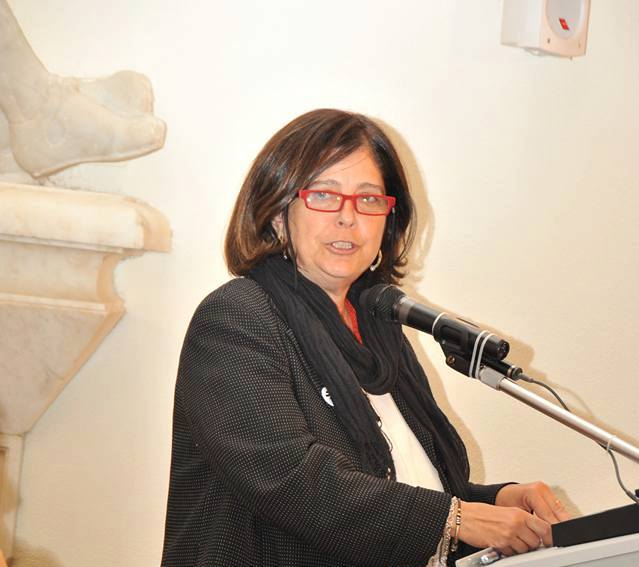 Aurelia Sole, rettrice Unibas (foto Fondazione Leonardo Sinisgalli, da facebook)