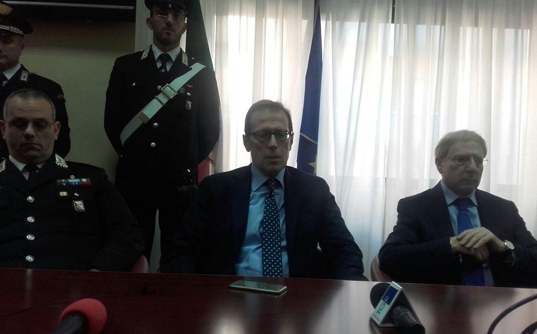 VIDEO – Un arresto per la strage di San Lorenzo del Vallo, il procuratore Facciolla in conferenza stampa