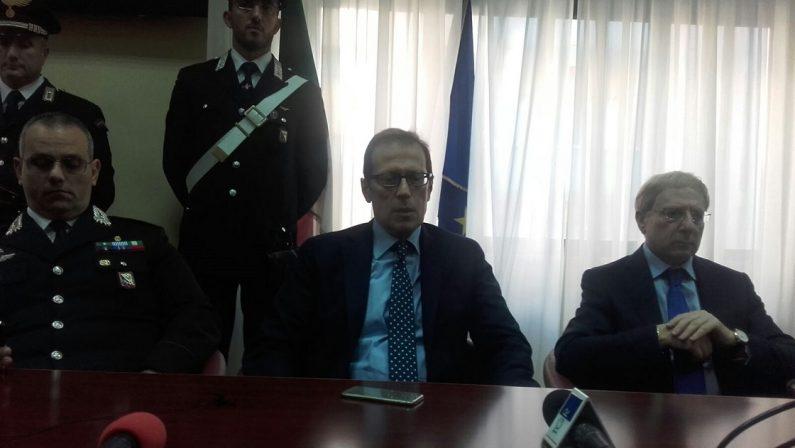 VIDEO - Un arresto per la strage di San Lorenzo del Vallo, il procuratore Facciolla in conferenza stampa