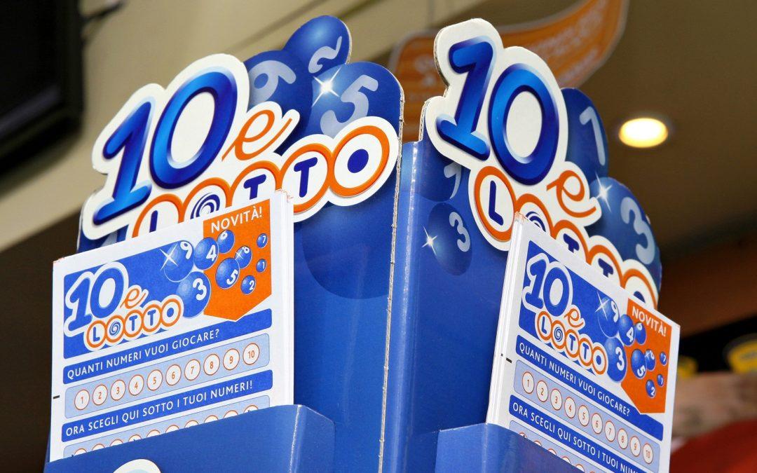 Schedine del 10 e Lotto