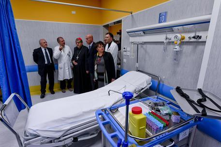 Inaugurato il Pronto Soccorso all'ospedale Pellegrini di Napoli