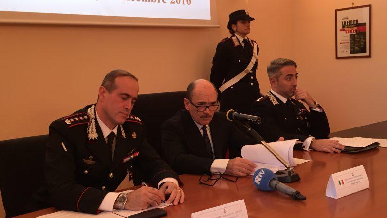 Gare d'appalto truccate per favorire la 'ndrangheta  Operazione dei carabinieri: 14 arresti nel Reggino