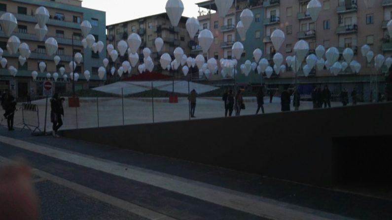 FOTO - Cosenza, inaugurata piazza Bilotti