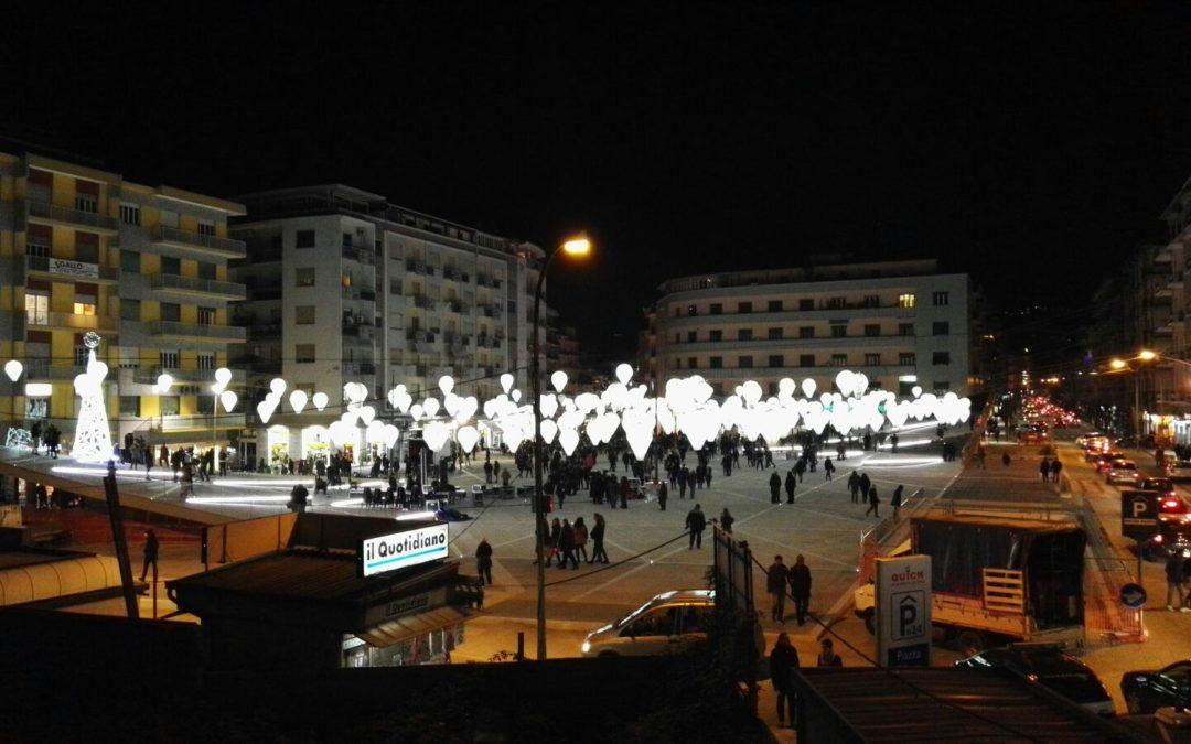 Piazza Bilotti durante l'inaugurazione