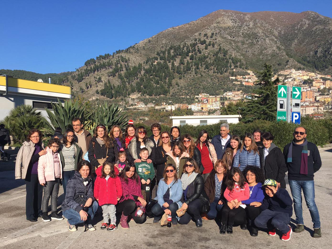 I bambini del reparto di oncologia di Cosenzain udienza da Papa Francesco per l'albero di Natale