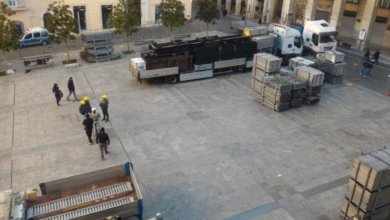 Ecco come il centro storico di Potenza si prepara al Capodanno Rai in piazza
