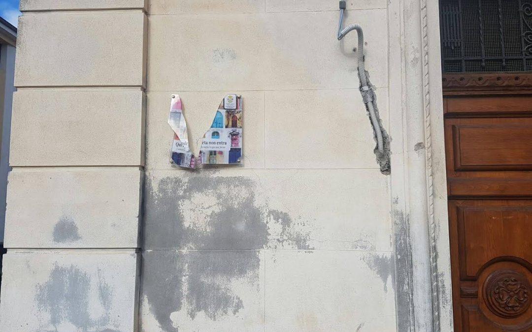 Cessaniti, riposizionata la Targa anti'ndrangheta al Comune  Era stata distrutta, presto attiva la video sorveglianza