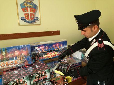 Napoli, sequestrata grande quantità di botti di Capodanno