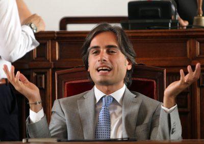 Giuseppe Falcomatà, sindaco di Reggio Calabria