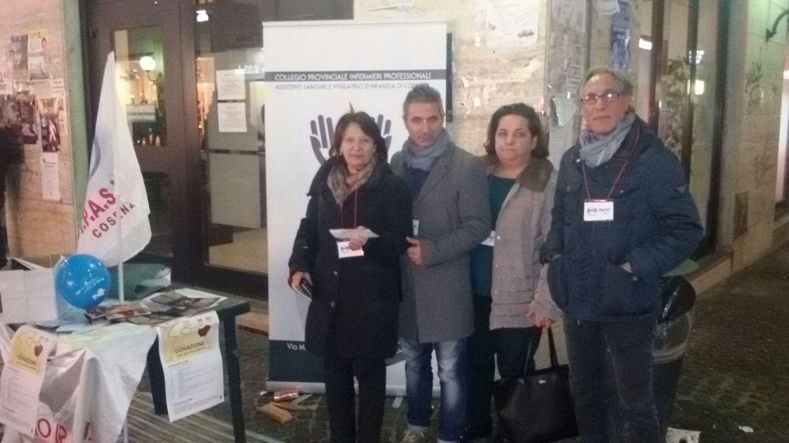 Giornata della Donazione, iniziativa a Cosenza con Ipasvi e Csv