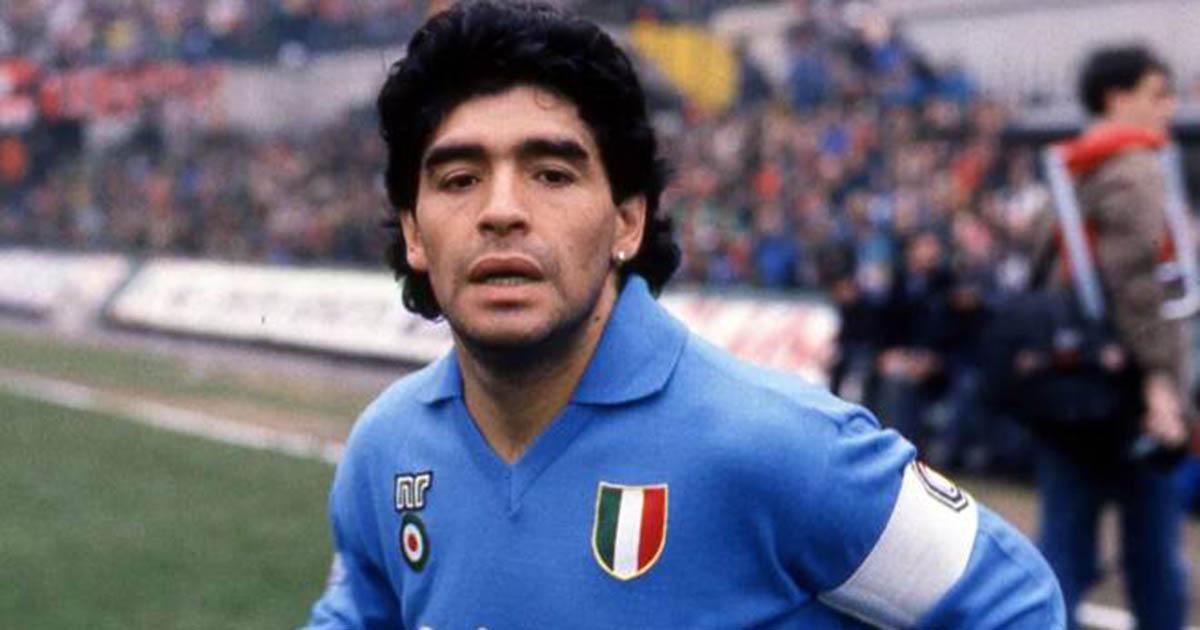 Maglia Maradona all'asta per 15mila euro