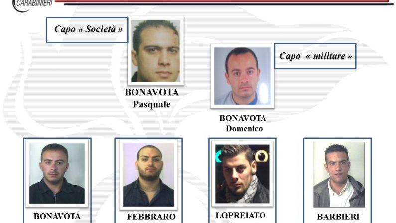 'Ndrangheta, blitz contro il clan Bonavota di Sant'OnofrioIl presunto boss torna in libertà, in carcere gli altri fermati