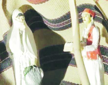 La Madonna nel presepe col volto velato, è polemica nella chiesa di Sant'Anna a Potenza