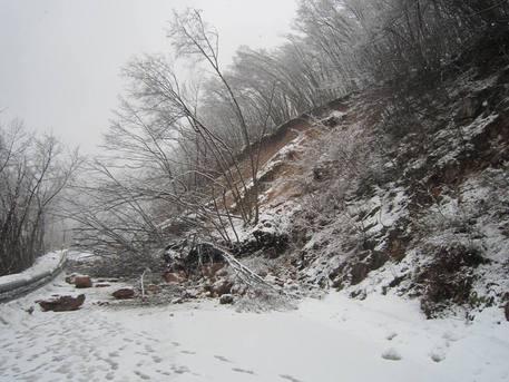 Torna a nevicare nel beneventano