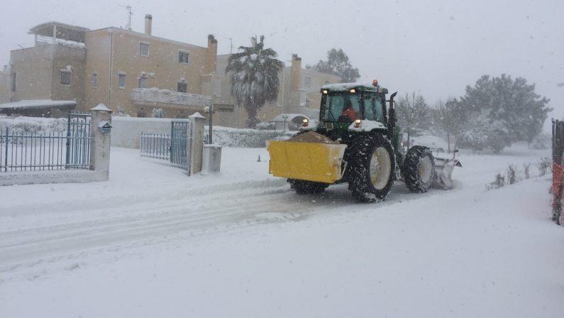 Neve, scuole chiuse in tutta l'Irpinia