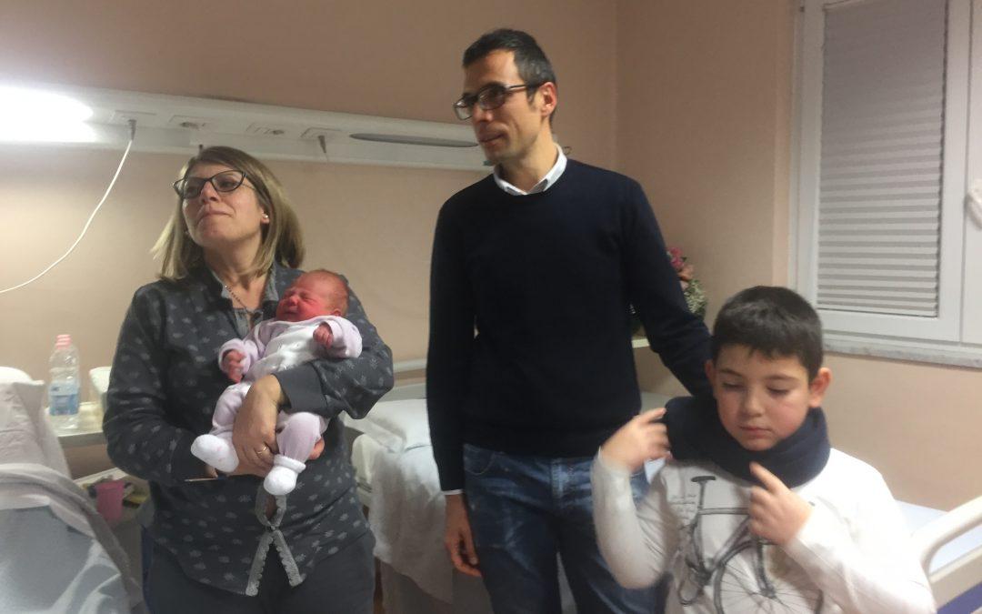 Alla Malzoni di Avellino il primo nato d'Italia, si chiama Adele