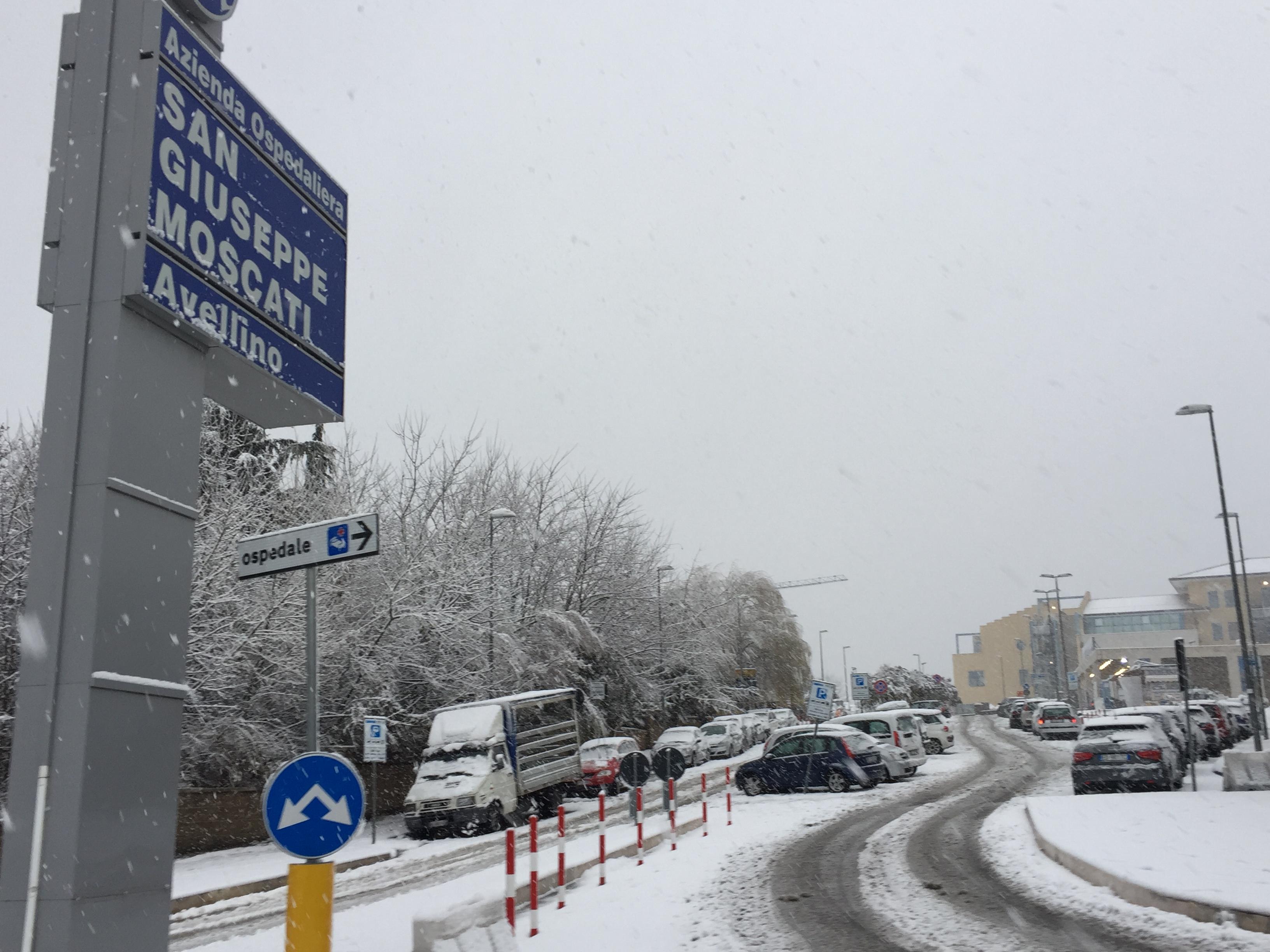 Avellino imbiacanta, da Comune a Provincia task force contro l'emergenza neve