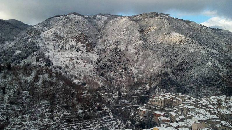 La magia della neve e del ghiaccio a Longobucco (CS)