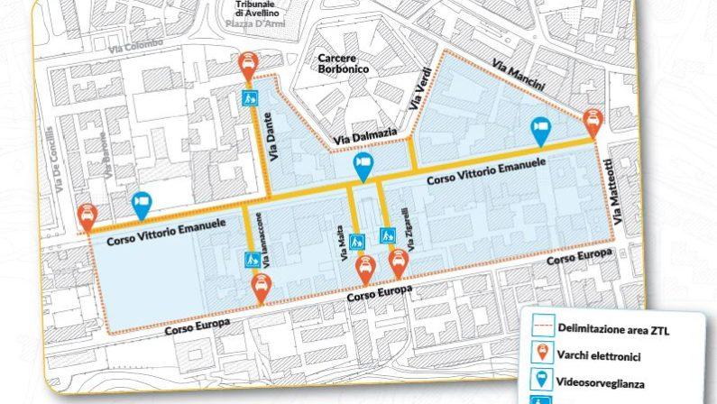 Il Corso di Avellino e tutte le strade limitrofe diventano Zona a Traffico Limitato